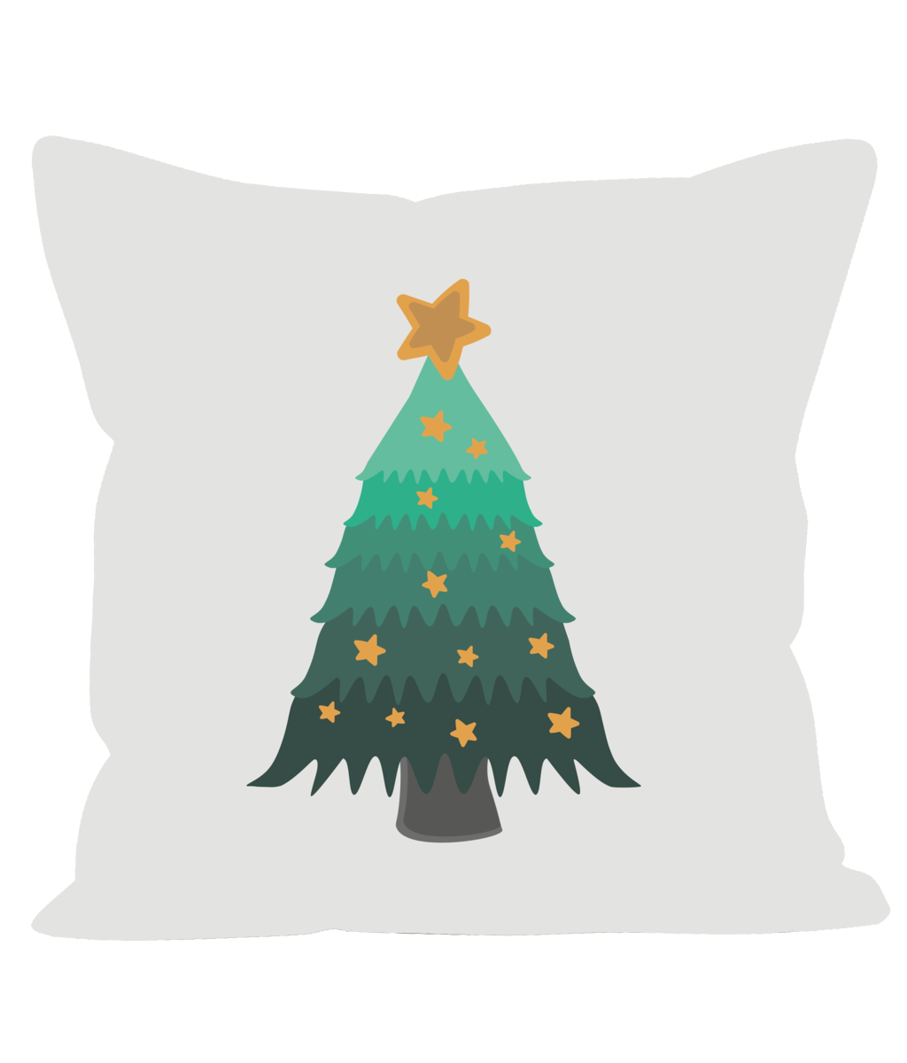 Sofa Cushions Christmas Tree